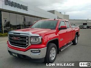 2016 GMC Sierra 1500 SLE   LOW Mileage, 4x4, Local Trade