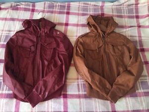 Brand new faux leather jackets!