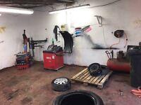 """New Tyre Depot Open, Belfast, Castlereagh """"tyre shack"""""""