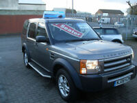 Land Rover Discovery 3 2.7TD V6 auto 2008 GS , 7 SEATER