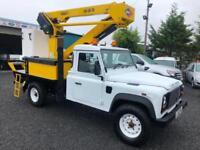 Land Rover 130 Defender 2013 versa lift Lt-39 12.5 meter hydraulic lift vehicle