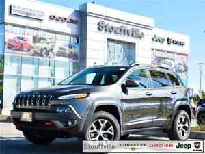 2017 Jeep Cherokee Trailhawk, Company CAR Only 6,400 KMS