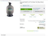 Hayward 220t sand filter new in the box
