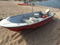 14' Abitibi Fiberglass Boat