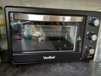 Von Shef Mini Oven 30L barely used