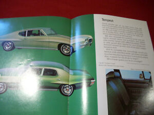 1970 Pontiac GTO sales brochure Peterborough Peterborough Area image 6