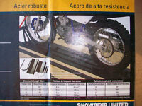 MOTORCYCLE WHEEL CHOCK KITS FOR TRAILERS