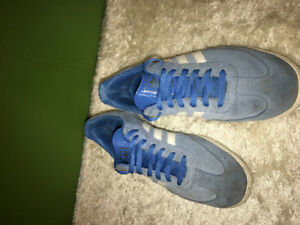 TERJUAL Adidas Samba Super Classic Blue Original size 10 fits to