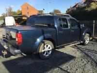 Nissan Navara 2.5dCi Aventura blue manual