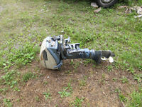 6 hp Evinrude and 9hp chrysler