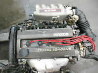 JDM BP ENGINE MAZDA MX3 323 FAMILIA ENGINE B5 1.5L DOHC ENGINE B