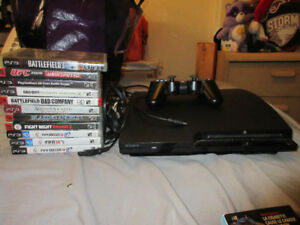 PLAYSTATION 3 CONSOLE W/GAMES