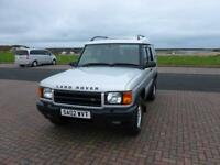 Land Rover Discovery Td5 Gs 5Str Estate 2.5 Manual Diesel
