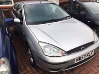 FORD FOCUS 1.4RARE (2003) 12 months MOT SOLD AS SEEN NO OFFERS PLS