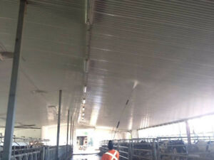 Barn Washing and Disinfecting!! Call for a free estimate.