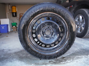 Set of 4 snow tires from 2013 cruze