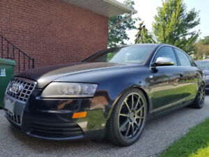 Audi S6 front bumper and grill