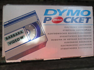 Esselte Dymo Pocket Electronic Labelmaker Like NIB incls.4 tapes London Ontario image 9
