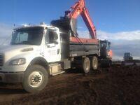 Synergy Gravel trucks for hire