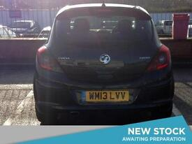 2013 VAUXHALL CORSA 1.4T Black Edition 3dr