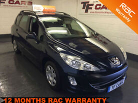 2009 59 REG Peugeot 308 SW 1.6HDi S - FINANCE FROM ONLY £19 PER WEEK!
