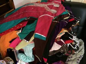 GIRLS EID FANCY PAKISTANI/ INDIAN CLOTHING- NOTHING OVER $65