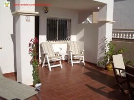 Costa Blanca, Spain. Ground floor apartment with a/c, Wi-Fi, English TV, sleeps 4 (SM016)