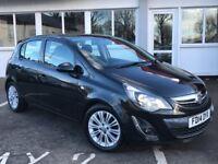Vauxhall Corsa SE 1.4i 16v VVT (a/c) (black) 2014