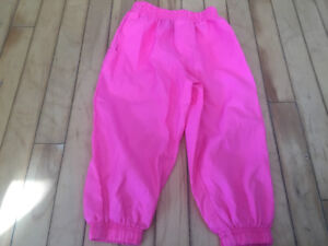 Girls size 2 splash-pants