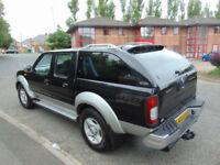 2003 Nissan NAVARA DIESEL PIC UP BLACK MET