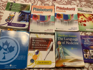 Medical Laboratory Assistant books - Oulton College
