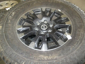 nissan titan wheels and mud tires