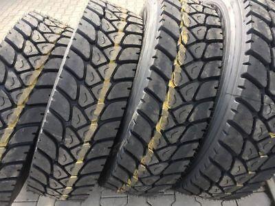 neu 315/80 R22,5 152/148L Runderneuert Premium(m+s)Baustelle LKW-Reifen Antrieb