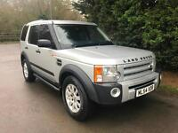 54 REG LAND ROVER DISCOVERY 3 SE 2.7 TDV6 AUTOMATIC 4X4 7 SEATER TURBO DIESEL