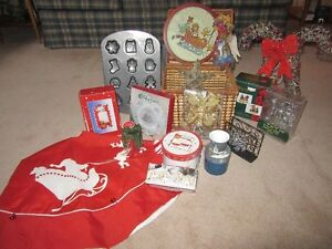 Basket of Holiday Themed Items