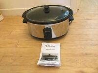 Delta Slow Cooker 6.8 litre - Unused, excellent condition, Large Capacity, Manual included, Family