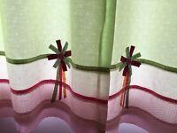 Next Emily ruffles curtains