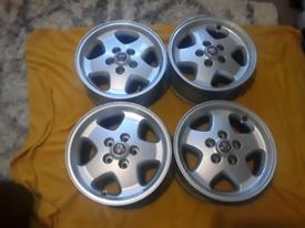"""Jaguar XJS 16"""" alloy wheels"""