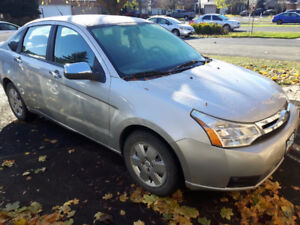 2009 Ford Focus Sedan with Snow Tires! Low KM
