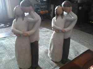 2 Willow Tree Sculptures. TOGETHER.  37.00 each new.