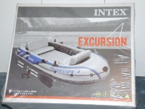 Intex Excursion 4 Inflatable boat, new in box