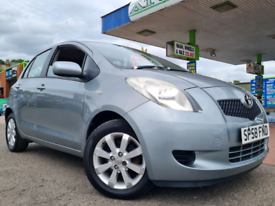 ⭐SUPERB VALUE⭐ TOYOTA YARIS TR 1.3 (2008) F.S.H HPI CLEAR!
