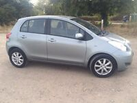 2009 Toyota Yaris , 62000 mileage, 2 owners, full mot history for sale