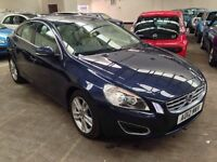 Volvo S60 SE LUX D4 Auto Start/Stop Eco 1 Owner Incredible Economy up to 70mpg 3 Month Warranty
