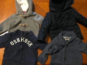 12 month boys sweaters and Jacket