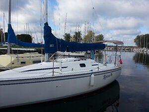 Hunter 26.5 For Sale in Ottawa with brand new  Sail