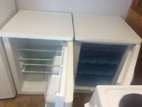 Bosch under counter fridge and freezer matching pair