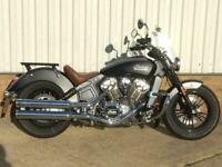 2015 Indian SCOUT.....1133cc...one owner...service history..extra's..matt black