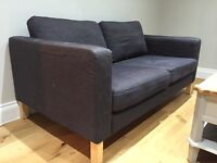 Ikea Karlstad Sofa 2 seater - Grey colour