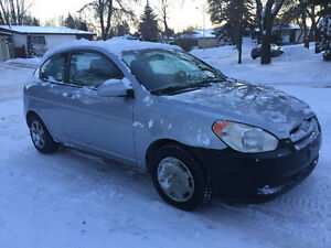 2007 Hyundai Accent 2 door hatch(SAFETIED) $2,800 Taxes Included